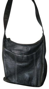 Liz Claiborne Crazy Horse Leather Leather Shoulder Bag
