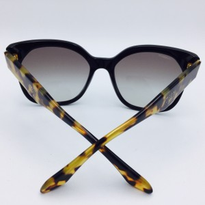 Prada Prada Black and Tortoise Square Sunglasses SPR 10R 57