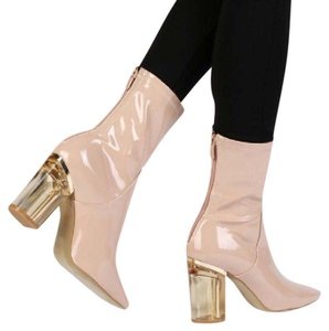 Topshop nude Boots