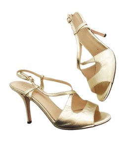 ac385f9a3e4e Gold Kate Spade Sandals - Up to 90% off at Tradesy