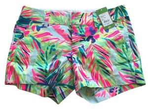 Lilly Pulitzer Shorts Multi Island Time