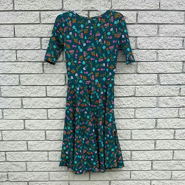 LuLaRoe short dress green on Tradesy