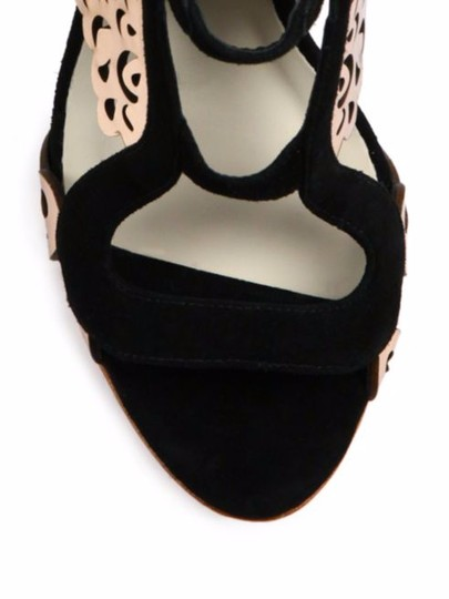 Sophia Webster Black/Gold Sandals