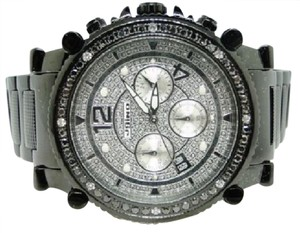 JoJino MENS JOJO/JOJINO/JOE RODEO BLACK DIAMOND WATCH 2.25 CT