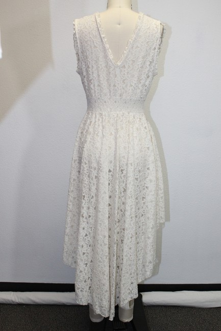 Free People Lace V-neck Pre-owned Dress