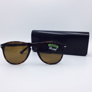 Persol Persol Tortoise Hand Made Polarized Sunglasses 9649-S 24/57
