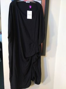 Black Maxi Dress by Anarkh
