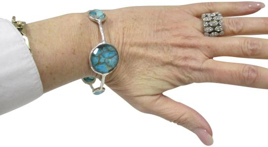 Preload https://img-static.tradesy.com/item/20886158/ippolita-sterling-silver-with-turquoise-wonderland-6-station-bangle-wturquoise-bracelet-0-4-540-540.jpg
