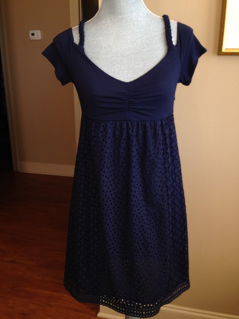 Preload https://item3.tradesy.com/images/cynthia-steffe-blue-knee-length-workoffice-dress-size-4-s-2088617-0-0.jpg?width=400&height=650