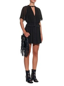 Isabel Marant Night Out Date Night Chiffon Chic Crepe Dress