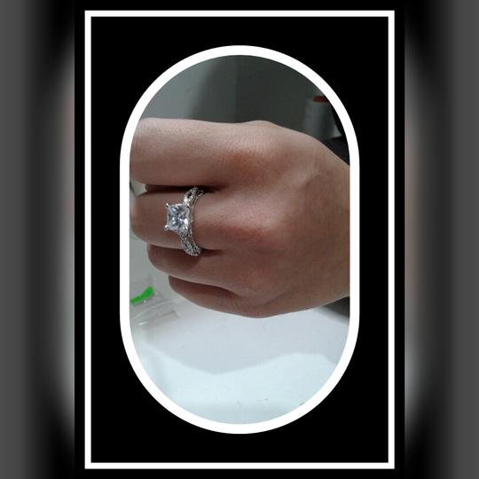 Sterling Silver Romantic Antique Female 2ct Simulated Cz 925 Ring