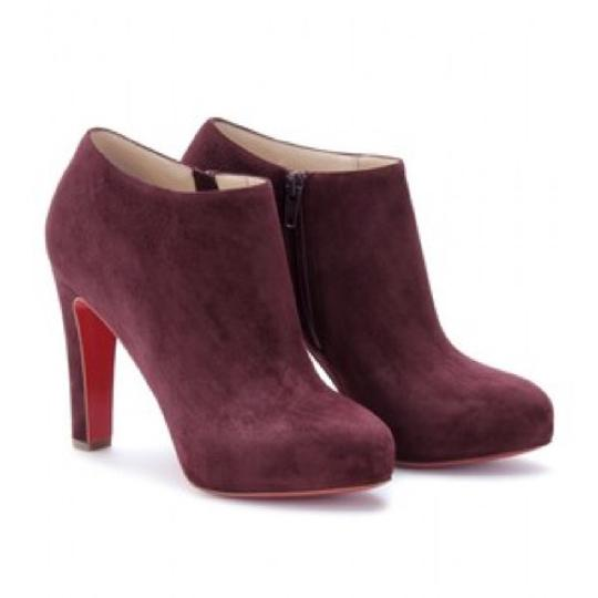 Preload https://img-static.tradesy.com/item/20886245/christian-louboutin-burgundy-bootsbooties-size-us-75-0-0-540-540.jpg