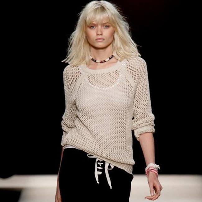 Isabel Marant Cut-out Mesh Spring Sweater