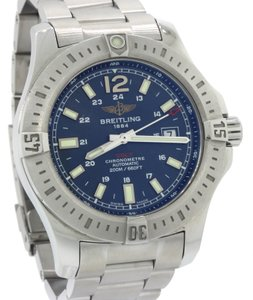Breitling Breitling Colt Steel Blue Stick Date A17388 PRO III Band 44mm Watch
