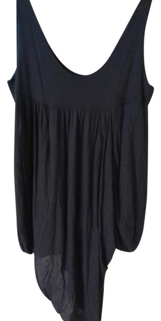 Preload https://img-static.tradesy.com/item/20886269/black-2xl-draped-cotton-tunic-size-18-xl-plus-0x-0-1-650-650.jpg
