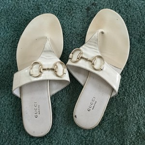 Gucci Great White Sandals