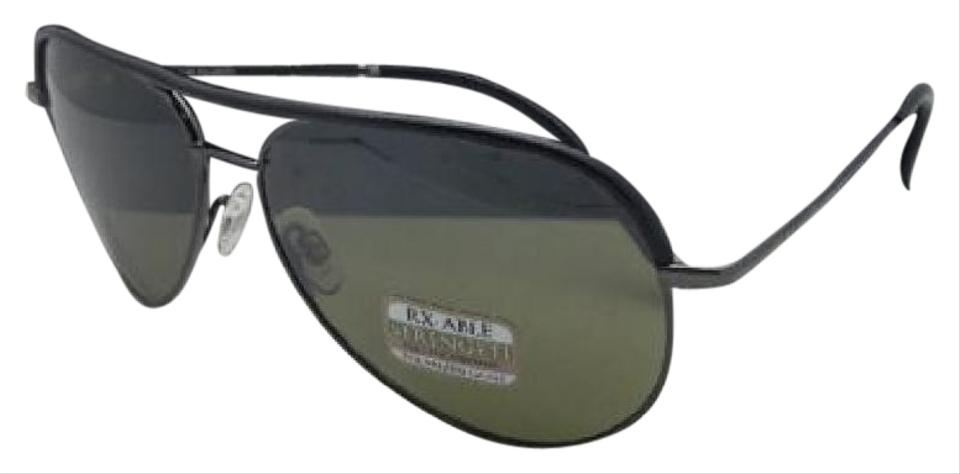 8806ea7706de Serengeti SERENGETI Photochromic Polarized Sunglasses CARARRA LEATHER 8548  Black Image 0 ...