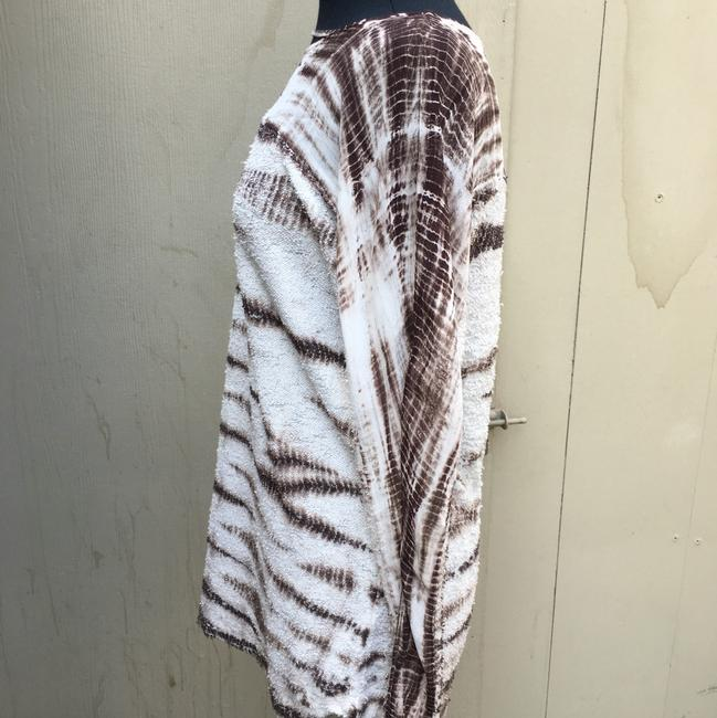 Lilly mason Top brown and white