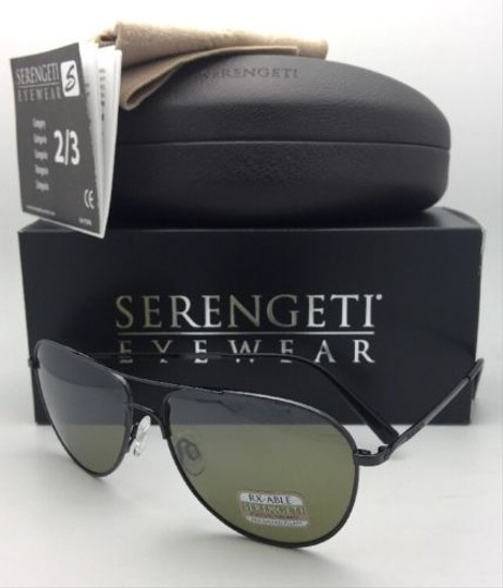 Serengeti SERENGETI Photochromic Polarized Sunglasses ALGHERO 8313 Gunmetal