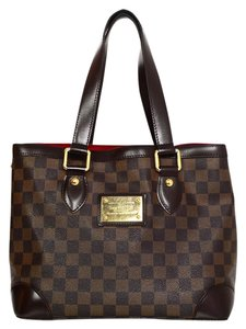 Louis Vuitton Lv Damier Hampstead Hampstead Pm Tote in Brown