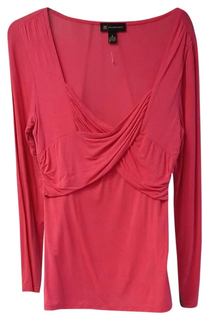 Preload https://img-static.tradesy.com/item/20886617/inc-international-concepts-pink-blouse-size-10-m-0-1-650-650.jpg