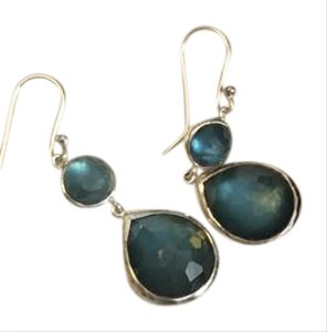 Ippolita Ippolita sterling silver drop earrings with aqua stones