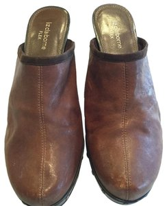 Liz Claiborne Brown Mules
