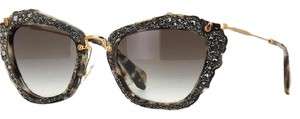 Miu Miu Embellished 55mm Cat Eye Sunglasses
