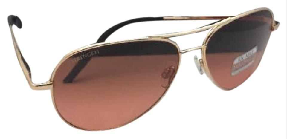 698595f0f781 Serengeti New SERENGETI Photochromic Sunglasses CARRARA SMALL 8550 Gold  Aviator Image 0 ...