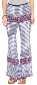 Anthropologie Wide Leg Pants White, Purple, Blue, Orange, Pink, Black