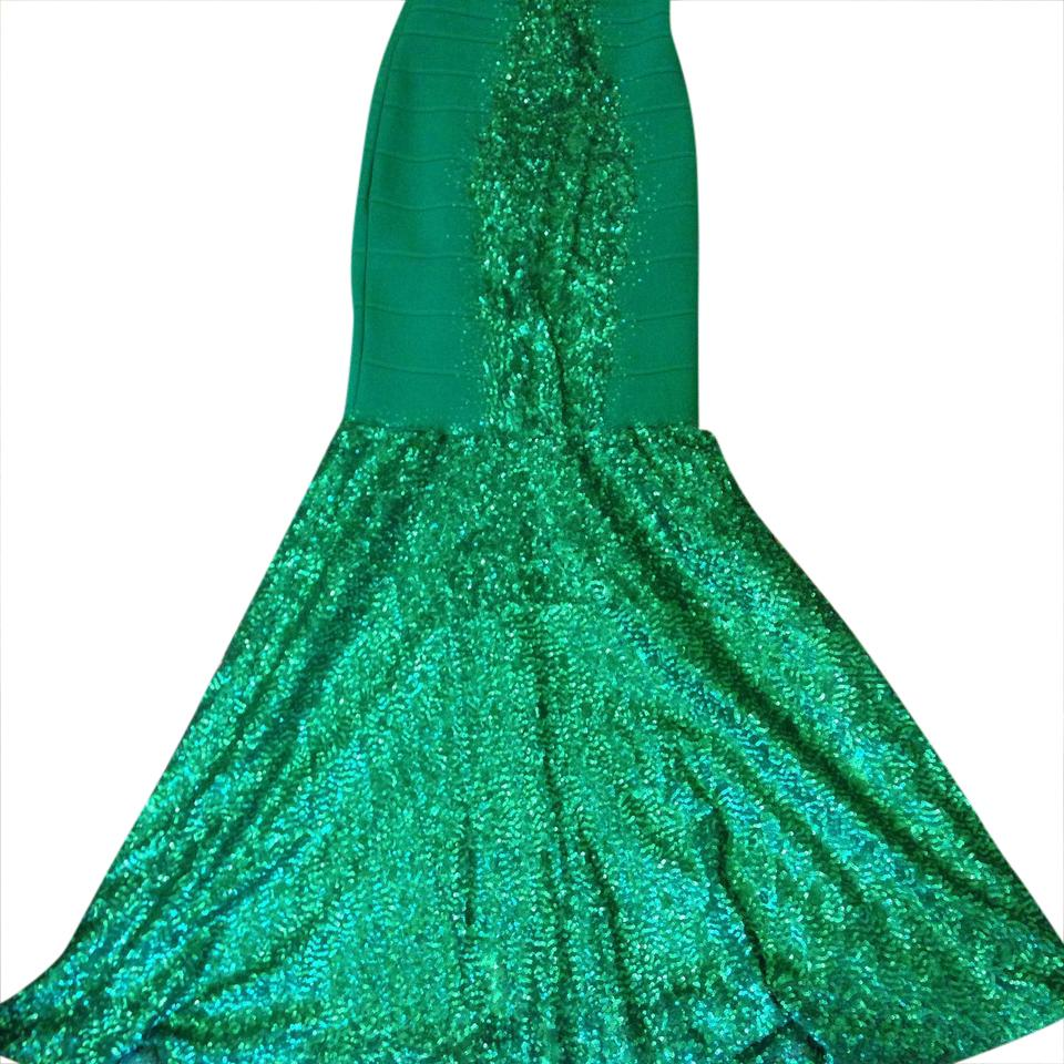Alberto Makali Green Prom Long Formal Dress Size 4 (S) - Tradesy