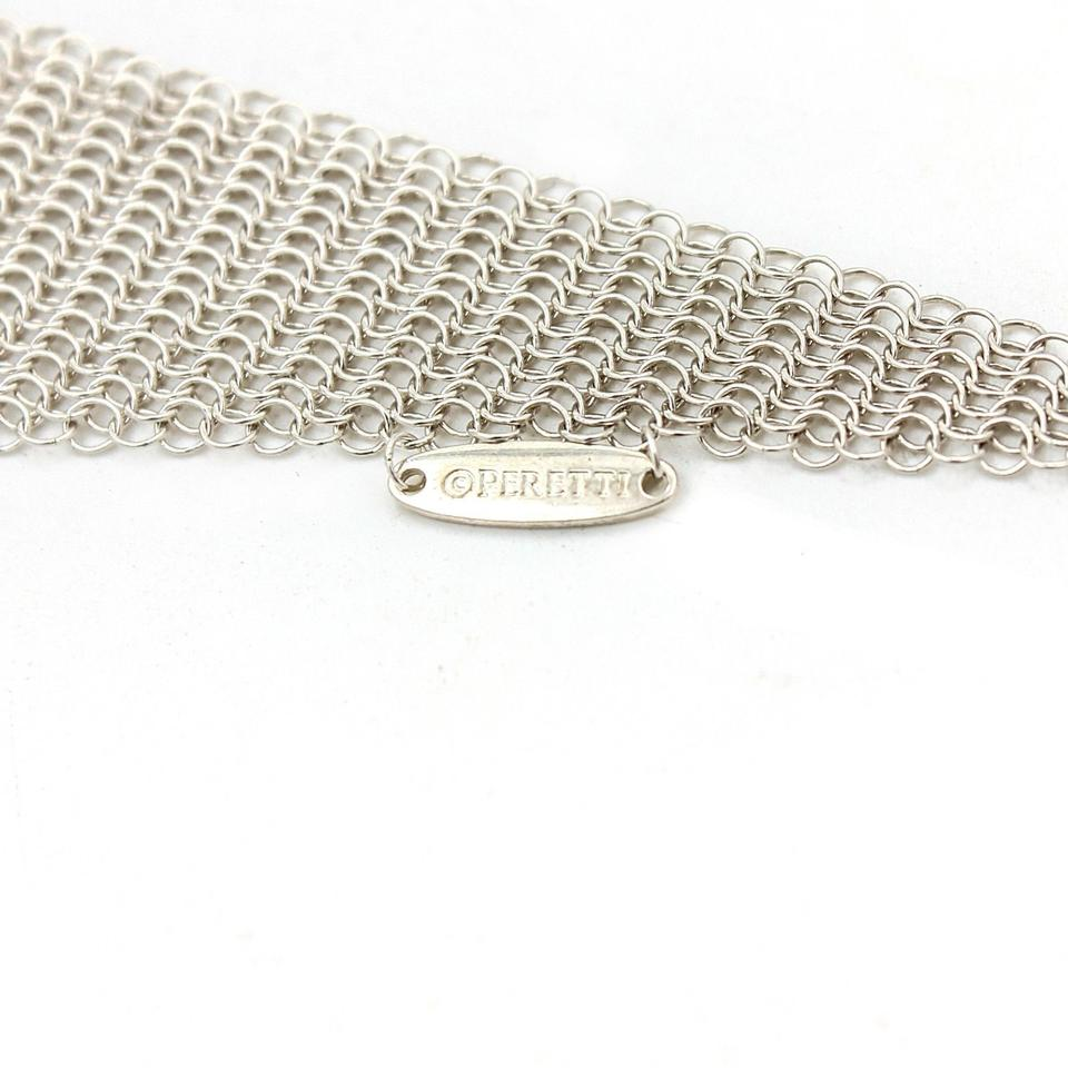 48301b509 Tiffany & Co. Elsa Peretti Mesh Scarf Necklace in Sterling Silver. 12345678