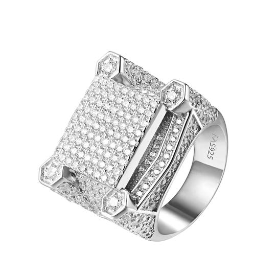 Preload https://img-static.tradesy.com/item/20887317/hip-hop-men-custom-sterling-silver-iced-out-wedding-ring-0-0-540-540.jpg