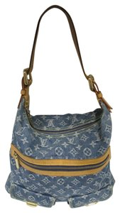 Louis Vuitton Denim Blue Baggy Gm Classic Shoulder Bag