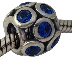 PANDORA Pandora Whimsical Lights Blue CZ Charm, 791153NSB, New