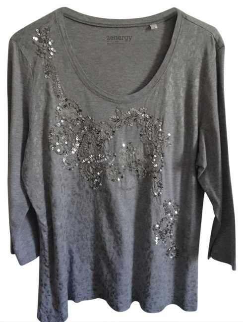 Preload https://img-static.tradesy.com/item/20887582/grey-night-out-top-size-10-m-0-1-650-650.jpg