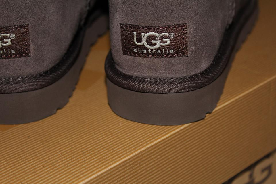 44ddad453ab UGG Australia Chocolate Brown Bailey Bow Tall Suede and Shearling  Boots/Booties Size US 7 Regular (M, B) 31% off retail