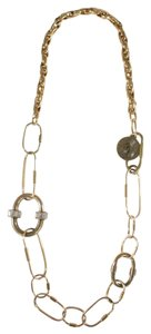 Lanvin LANVIN GOLD OVAL CHAIN LINK