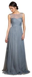 Jenny Yoo Bridesmaid Tulle Long Blue Dress