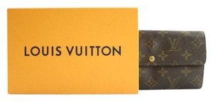 Louis Vuitton Monogram Sarah Bifold Wallet 87LVA3117