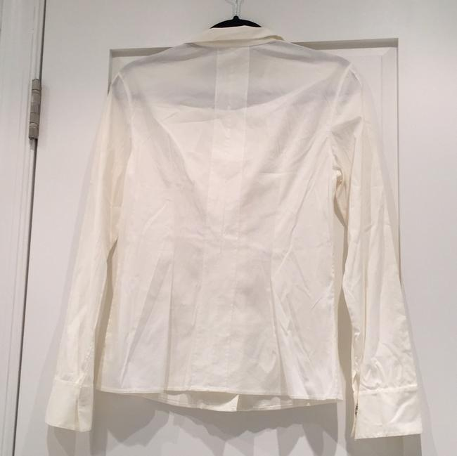 Akris Button Down Shirt off white