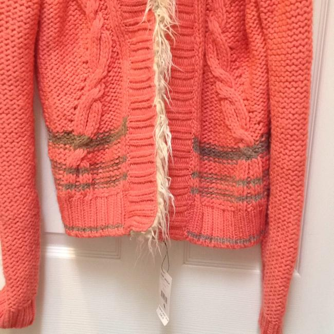 Free People Faux Cable Knit Longsleeve Cardigan