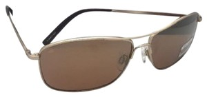 Serengeti SERENGETI PHOTOCHROMIC Polarized Sunglasses CORLEONE 8420 Gold Aviator