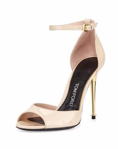 Tom Ford Nude Blush Patent Sandals