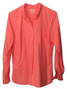 Gap Button Down Shirt pink