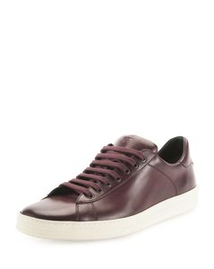 Tom Ford Burgundy Leather Russel Athletic