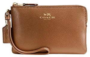 Coach Nwt New With Tags Wristlet in Saddle