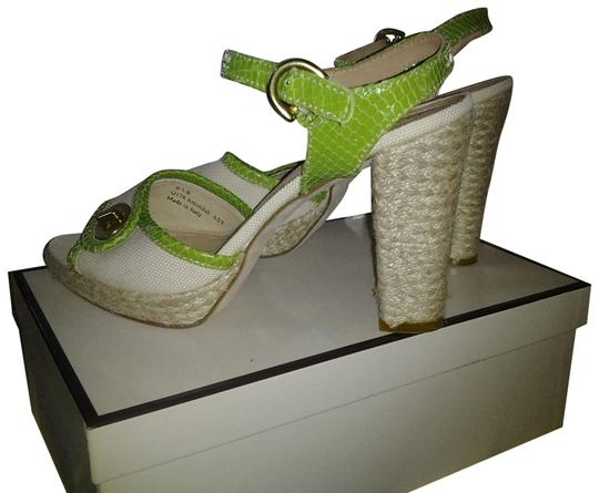 Preload https://item3.tradesy.com/images/coach-beige-and-green-amandah-canvas-pyth-sandals-size-us-95-regular-m-b-2088832-0-1.jpg?width=440&height=440