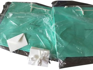 Tiffany & Co. Brand new Tiffany shopping bags and enclosure cards