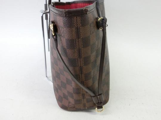 Louis Vuitton Neverfull Pm Mm Damier Ebene Tote in Brown Image 2